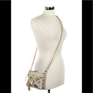Big Buddha Bags - Big Buddha Gold Embellished Crossbody Bag
